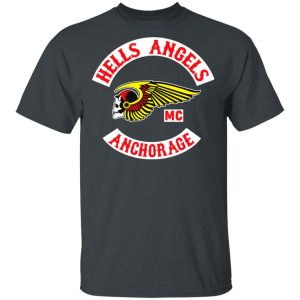 Hells Angels MC Anchorage T-Shirts