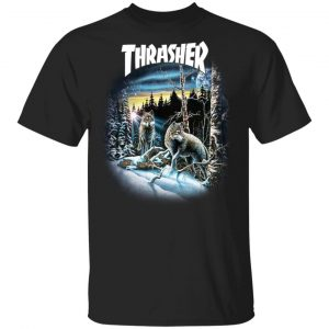Thrasher 13 Wolves T-Shirts