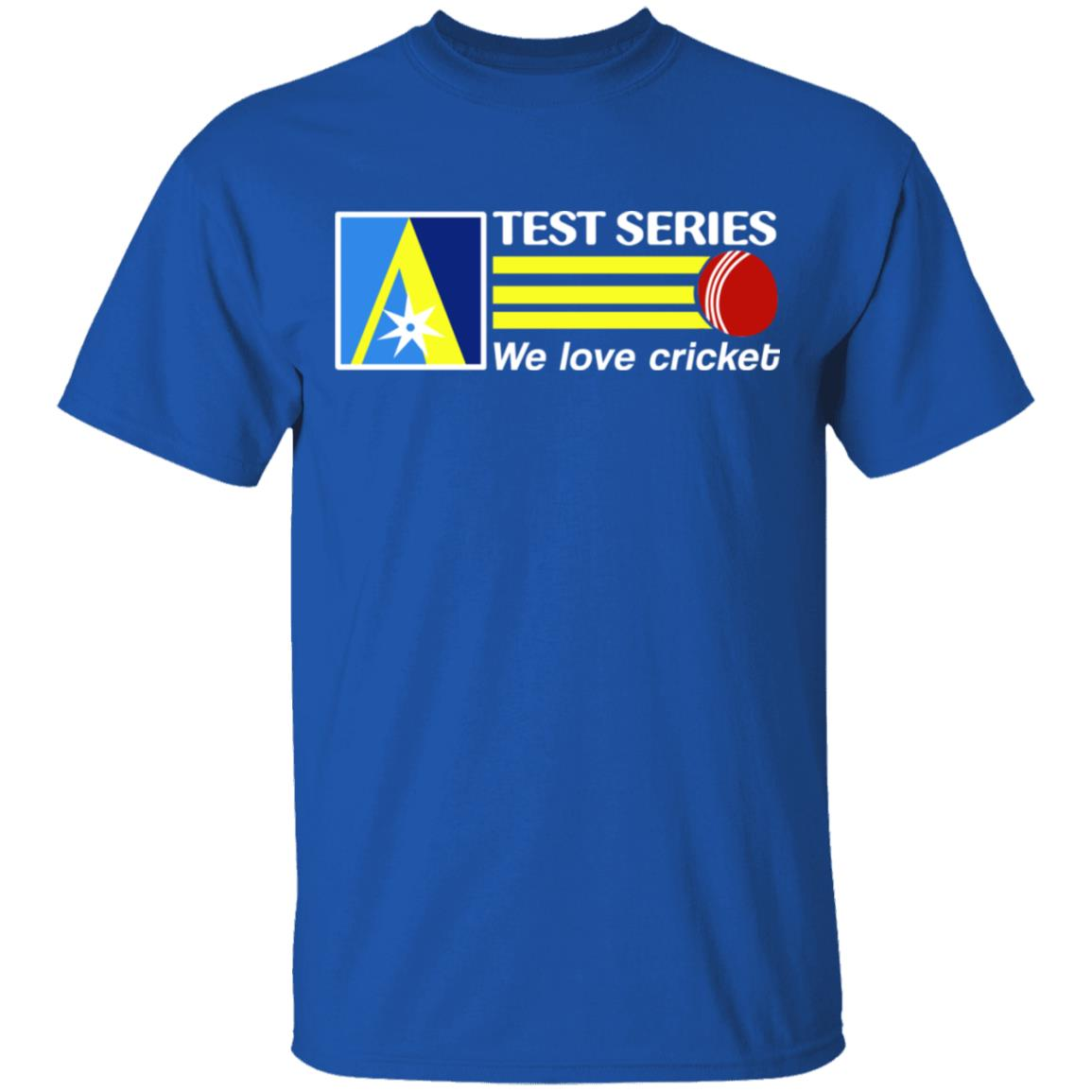 test series we love cricket tshirts  el real texmex