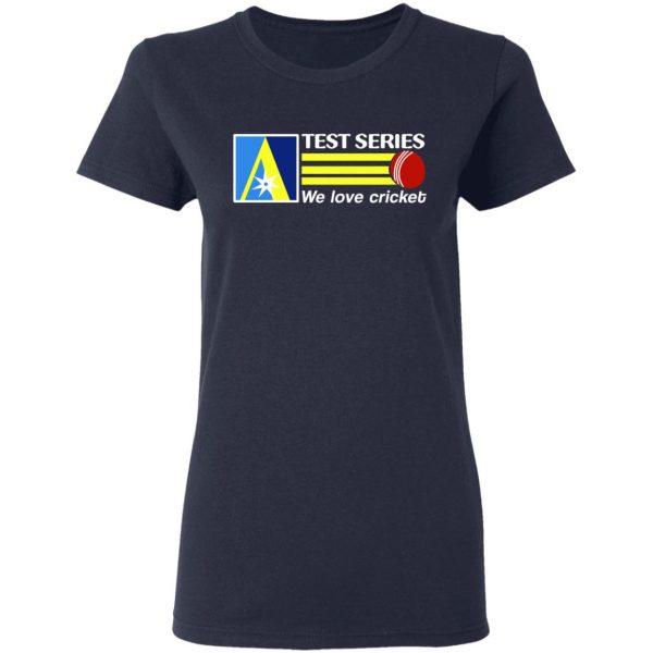 Test Series We Love Cricket T-Shirts