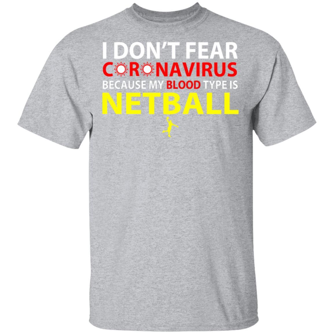 I Don't Fear Coronavirus Because My Blood Type Is Netball ...