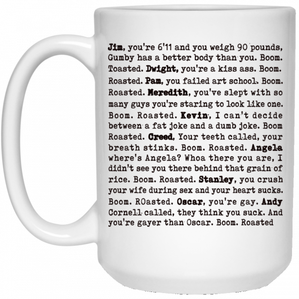 The Office Boom Roasted – Boom Roasted Legendary Michael'S Roasting Mug