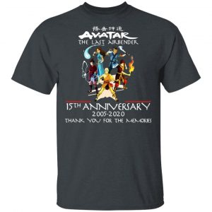 The Last Airbender Avatar 15th Anniversary 2005 2020 T-Shirts