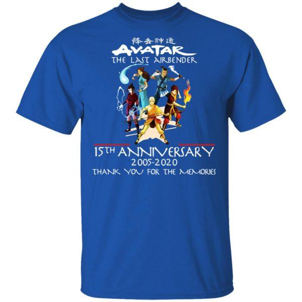 The Last Airbender Avatar 15th Anniversary 2005 2020 T-Shirts