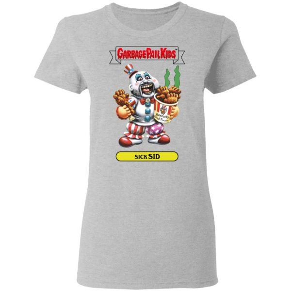 Garbage Pail Kids Sick Sid Captain Spaulding Version T-Shirts