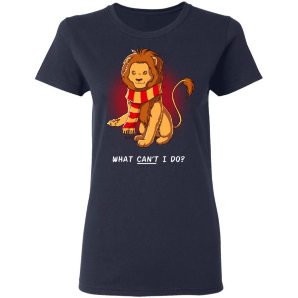 Harry Potter Gryffindor What Can't I Do T-Shirts