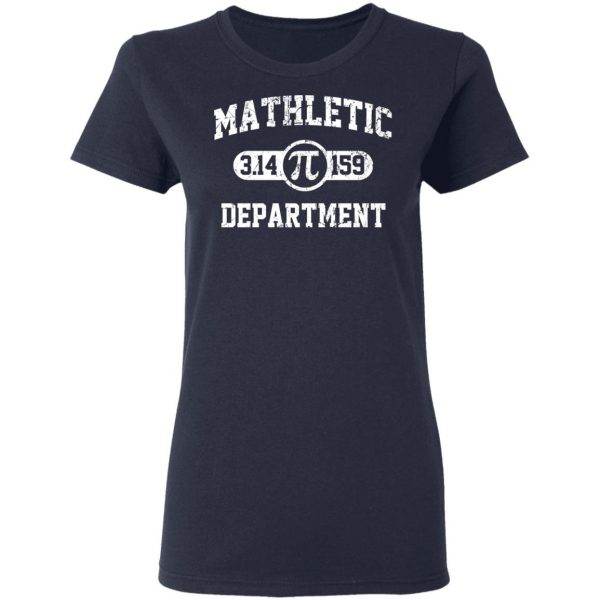 Mathletic Pi Department Pi Day T-Shirts