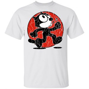 Felix The Cat Keep Walking Vintage T-Shirts