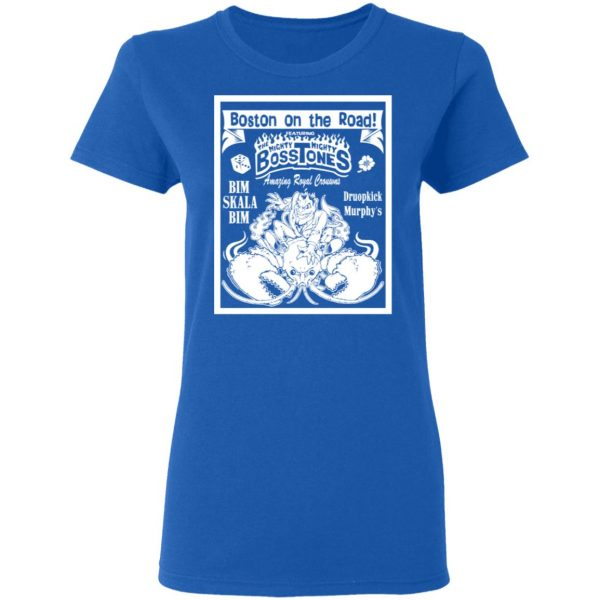 The Mighty Mighty Bosstones Boston On The Road T-Shirts