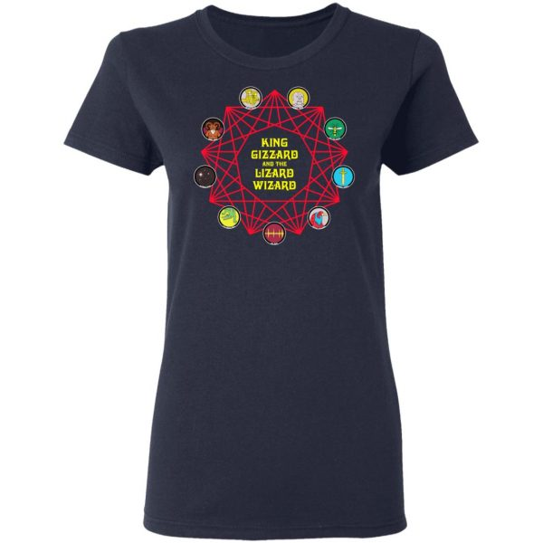 King Gizzard And The Lizard Wizard T-Shirts