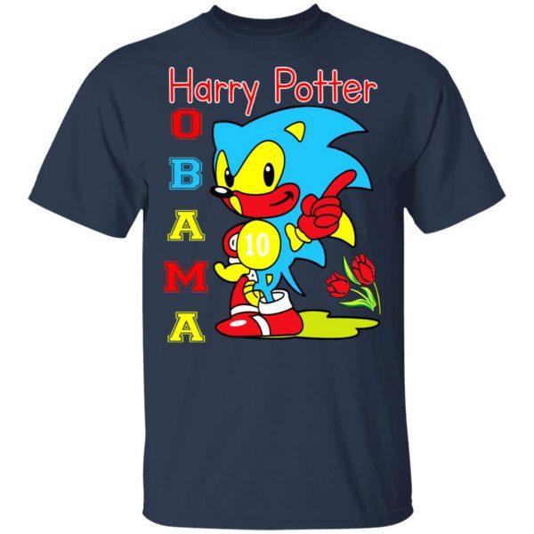 Harry Potter Obama Sonic Version T-Shirts