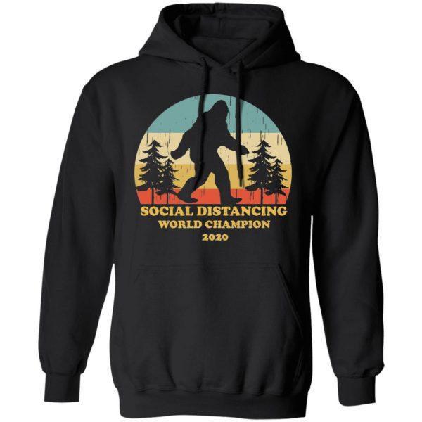 Bigfoot Social Distancing World Champion 2020 T-Shirts