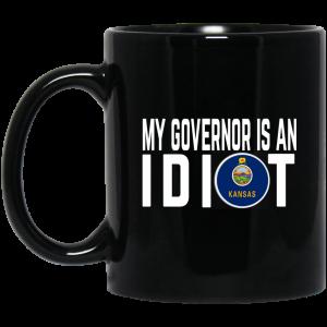 My Governor Is An Idiot Kansas Mug