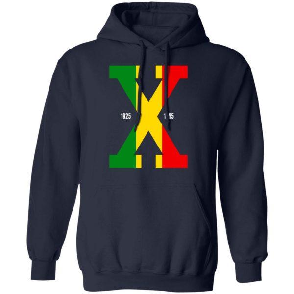 Tri Color Malcolm X T-Shirts