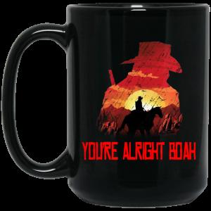 You're Alright Boah RDR2 Style Gaming Mug