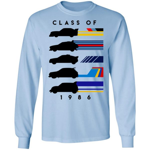 Group B 1986 Class Of 1986 T-Shirts