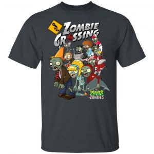 Zombie Grossing Plants vs Zombies T-Shirts