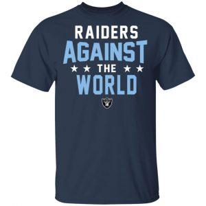 Oakland Raiders Raiders Against The World T-Shirts