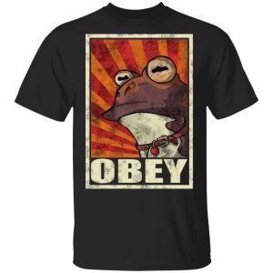 Obey The Hypnotoad T-Shirts