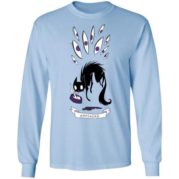 Khoshekh The Cat T-Shirts Apparel 11