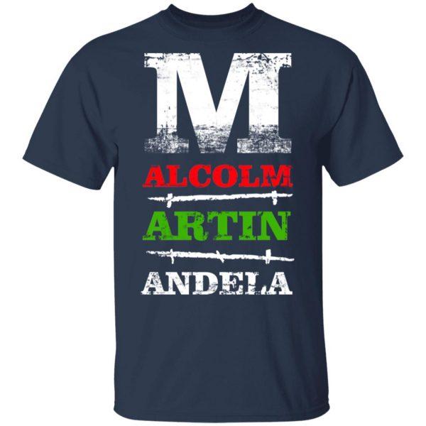 M Alcolm Artin Andela T-Shirts