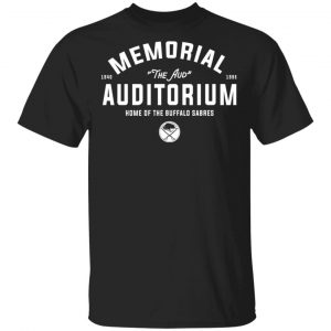 1940 1996 Memorial Auditorium Home Of The Buffalo Sabres T-Shirts