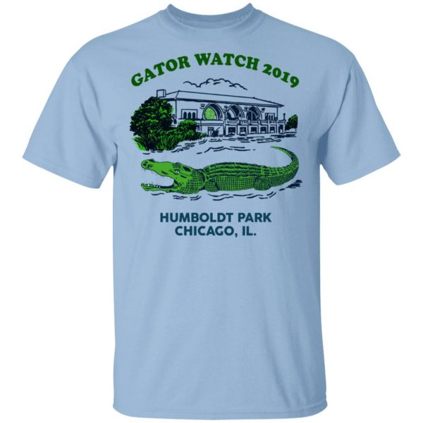 Gator Watch 2019 Humboldt Park Chicago IL T-Shirts Apparel 3