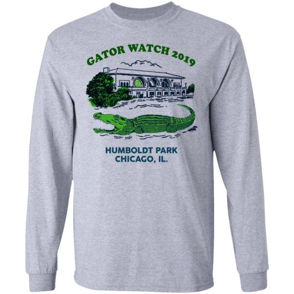 Gator Watch 2019 Humboldt Park Chicago IL T-Shirts Apparel 9
