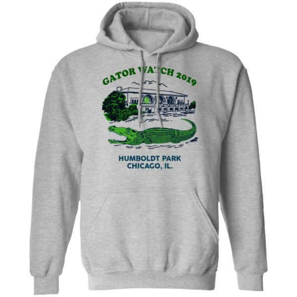 Gator Watch 2019 Humboldt Park Chicago IL T-Shirts Apparel 12