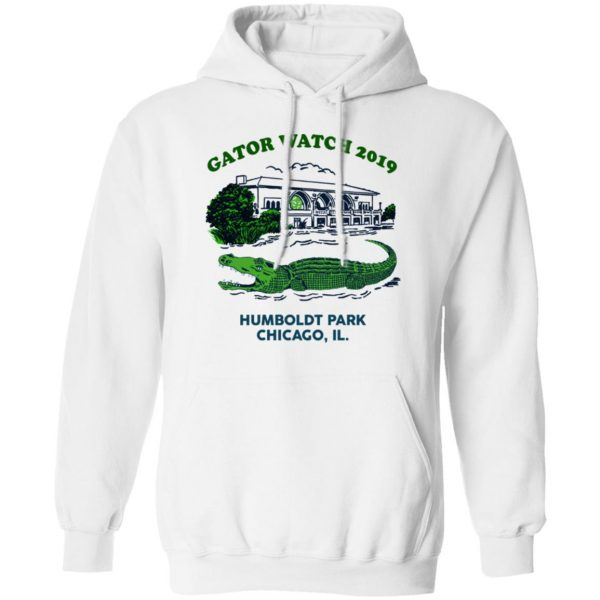 Gator Watch 2019 Humboldt Park Chicago IL T-Shirts Apparel 13