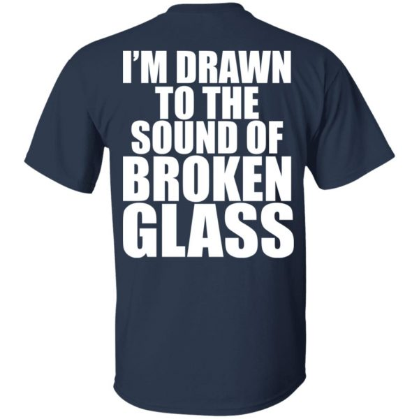 Crowbar I'm Drawn To The Sound Of Broken Glass T-Shirts