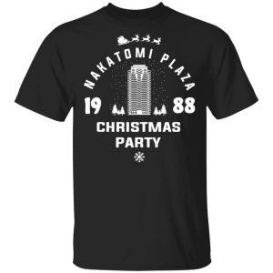 Nakatomi Plaza 1988 Christmas Party T-Shirts