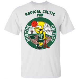 Vintage Bootleg Bart Radical Celtic Fan T-Shirts