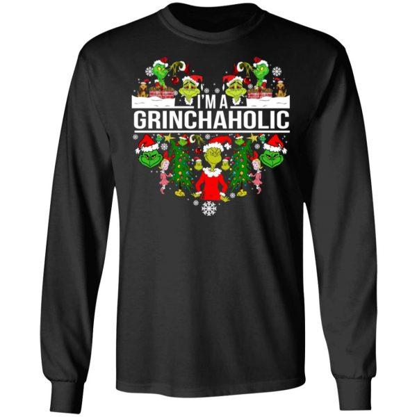 The Grinch I'm A Grinchaholic Christmas T-Shirts