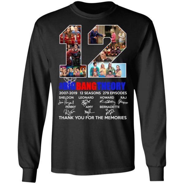 12 Years The Big Bang Theory T-Shirts