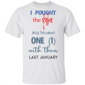 I Fought The Vojd And Became One With Them Last January T-Shirts