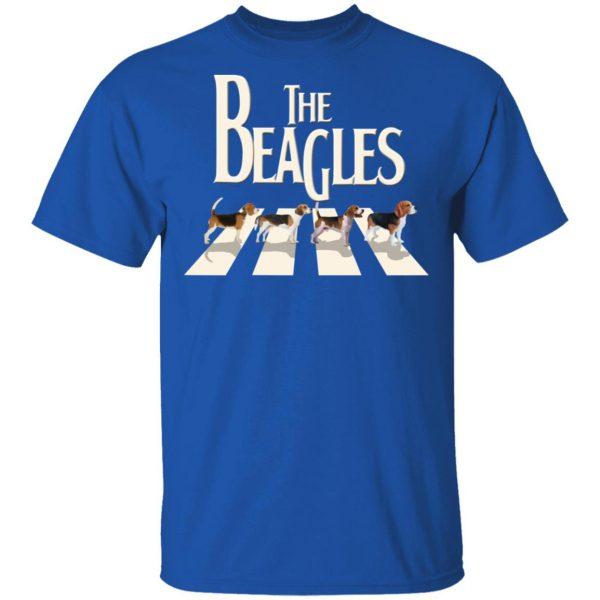 The Beagles Beatles Abbey Road T-Shirts