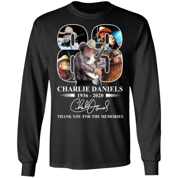 Remembering Charlie Daniels 1936 2020 T-Shirts