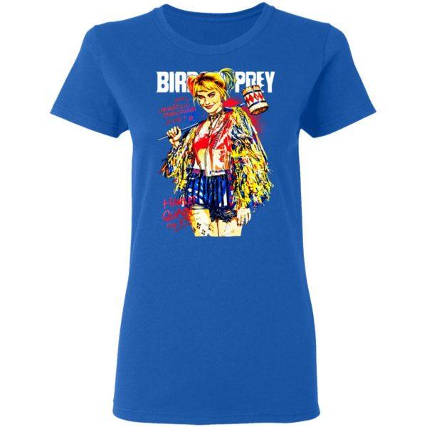 Harley Quinn Birds Of Prey T-Shirts