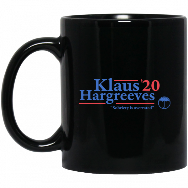 Klaus Hargreeves 2020 Sobriety Is Overrated Mug