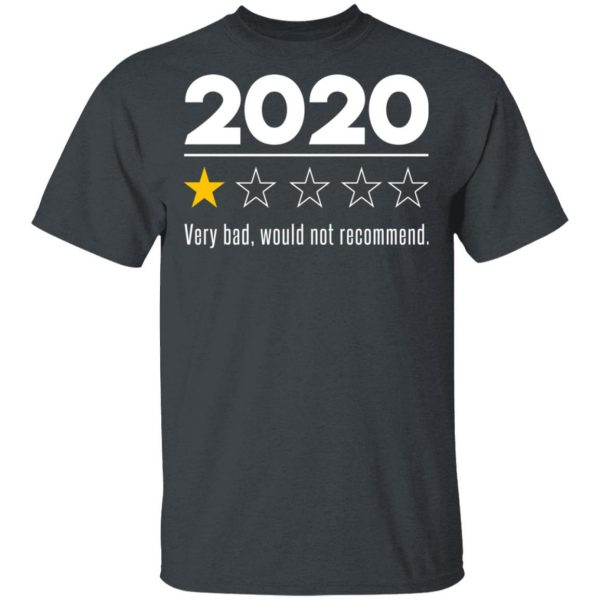 2020 This Year Very Bad Would Not Recommend T-Shirts, Hoodies, Sweatshirt Apparel 4