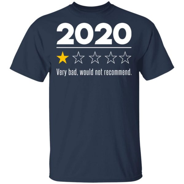 2020 This Year Very Bad Would Not Recommend T-Shirts, Hoodies, Sweatshirt Apparel 5