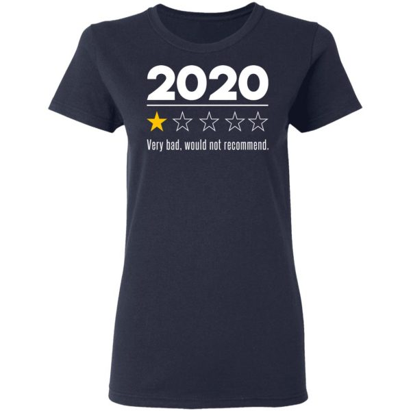 2020 This Year Very Bad Would Not Recommend T-Shirts, Hoodies, Sweatshirt Apparel 9