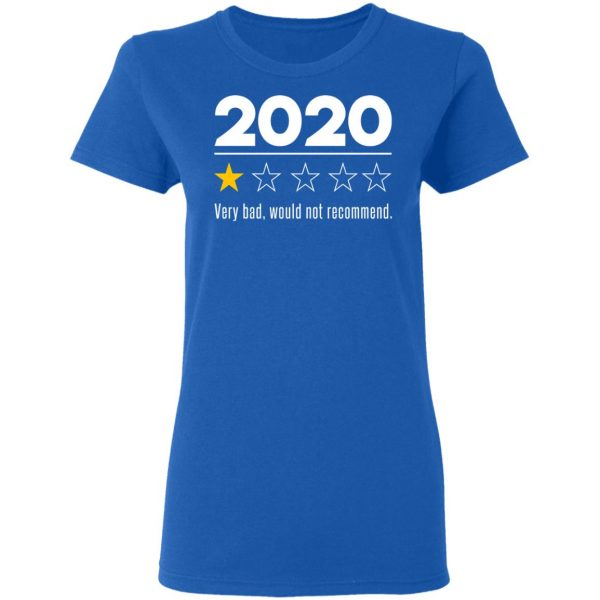 2020 This Year Very Bad Would Not Recommend T-Shirts, Hoodies, Sweatshirt Apparel 10