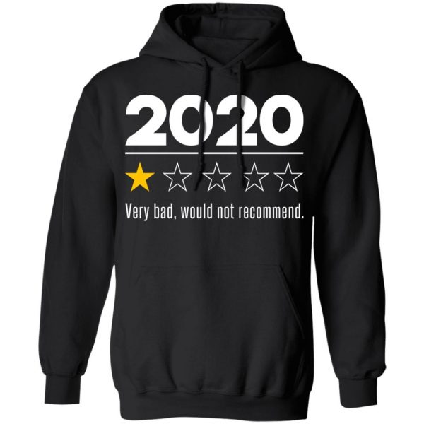 2020 This Year Very Bad Would Not Recommend T-Shirts, Hoodies, Sweatshirt Apparel 12