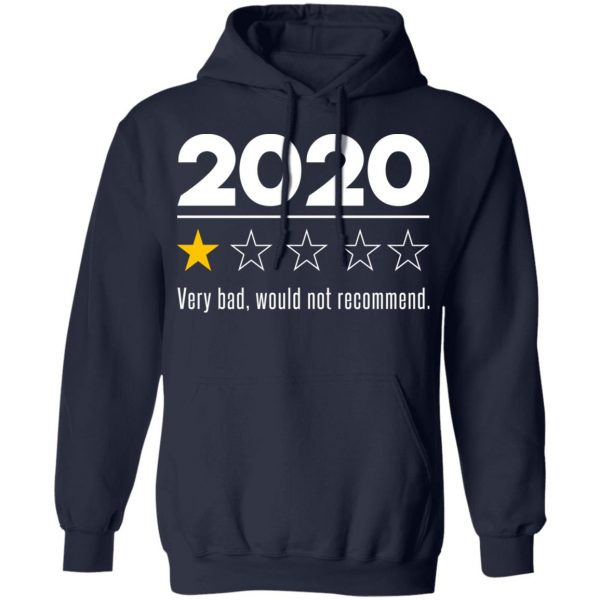 2020 This Year Very Bad Would Not Recommend T-Shirts, Hoodies, Sweatshirt Apparel 13