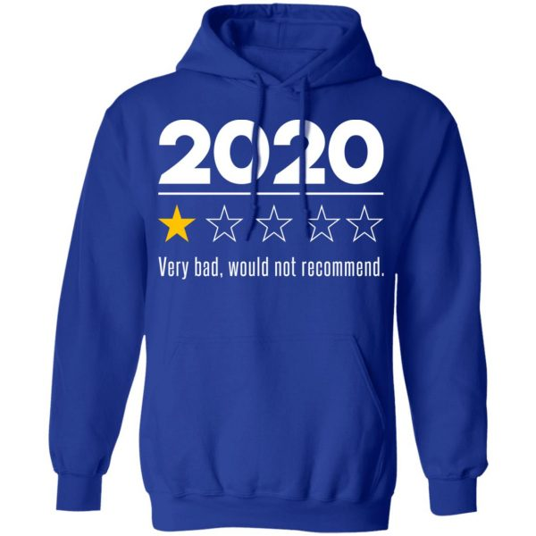 2020 This Year Very Bad Would Not Recommend T-Shirts, Hoodies, Sweatshirt Apparel 15