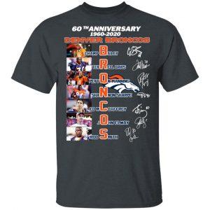 60th Anniversary Denver Broncos 1960 2020 T-Shirts, Hoodies, Sweatshirt