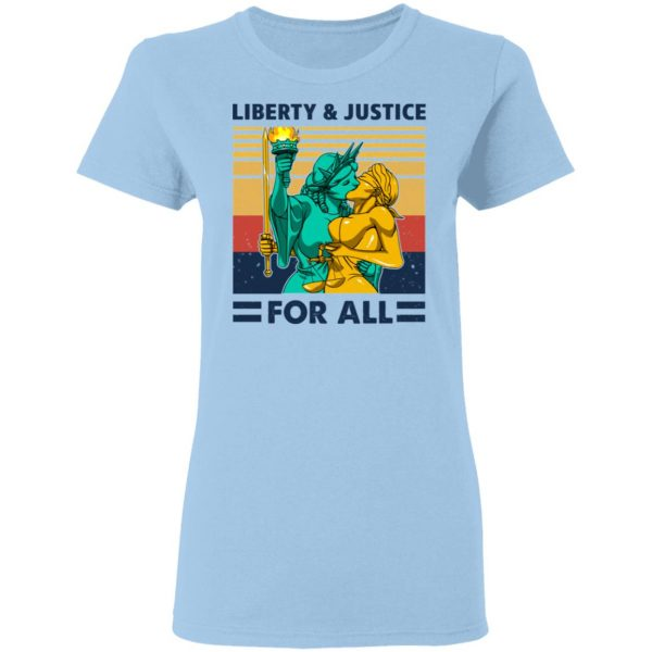 Liberty & Justice For All Vintage T-Shirts, Hoodies, Sweatshirt