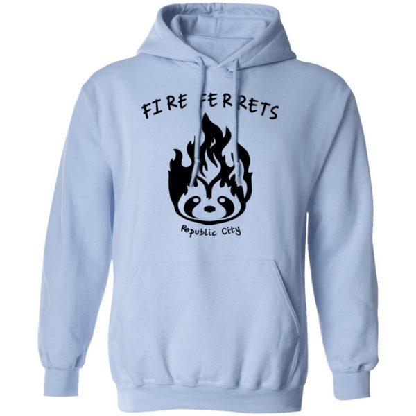 Fire Ferrets Republic City T-Shirts, Hoodies, Sweatshirt